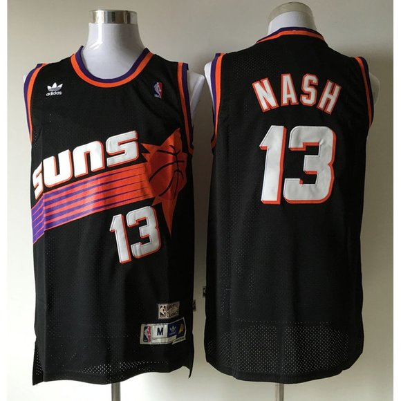 Other - Phoenix Suns Steve Nash Black Jersey